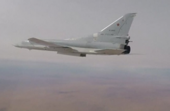 Russian defence ministry released on Thursday (November 23) a video footage of military jets, dropping bombs over militant targets in Syria.(photo grabbed from Reuters video)