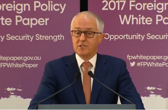 "Australia called on Thursday (November 23) on the United States to build a strong presence in Asia and bolster ties with ""like-minded"" partners while warning against China's rising influence.(photo grabbed from Reuters video)"