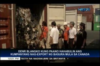 DENR plans next move against company that exported garbage from Canada