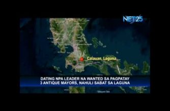 Former NPA leader wanted for killing three Antique mayors, arrested in Laguna