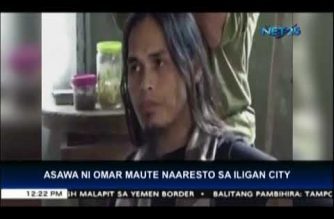 Police and military arrest Omar Maute's Indonesian wife in Iligan City