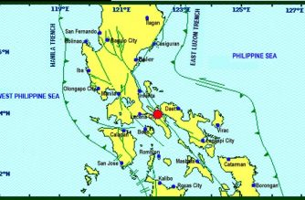 Quezon earthquake on Nov. 22./PHIVOLCS/