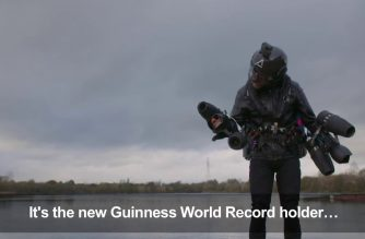 Real life 'Iron man' sets new record