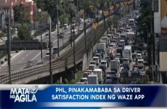 PHL, pinakamababa sa Driver Satisfaction Index ng Waze App