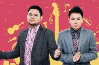 """PINAS FM 95.5 DJs na sina Davey Langit at """"Aikee"""" na nagkamit ng mga parangal.  (Eagle News Service)"""