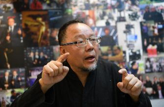 This picture taken on December 11, 2017 showing Taiwanese 3D film director Charlie Chu speaking during an interview in Taipei. From the migration of purple butterflies to the crafting of bamboo steam baskets, Taiwan's leading 3D film director has spent a decade painstakingly capturing the island's beauty. SAM YEH / AFP