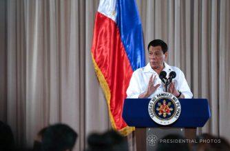 President Rodrigo Duterte.  (File photo from Malacanang)