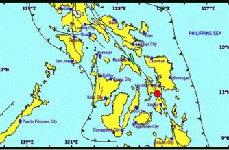 4.5-magnitude quake hits Leyte