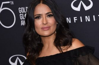 """(FILES) This file photo taken on November 15, 2017 shows actress Salma Hayek attending the Hollywood Foreign Press Association (HFPA) and InStyle celebration of the 75th Annual Golden Globe Awards season at Catch LA in  West Hollywood. A-lister Salma Hayek on December 13, 2017 joined the scores of actresses to accuse Harvey Weinstein, alleging that the fallen Hollywood mogul sexually harassed her, subjected her to escalating rage and once threatened to kill her.""""For years, he was my monster,"""" the Mexican-born star wrote in an essay published in The New York Times, detailing the torturous production of the 2002 movie """"Frida"""" that eventually earned Hayek an Oscar nomination for best actress.  / AFP PHOTO / CHRIS DELMAS"""