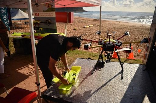 Shark Spotting Drones On Patrol At Australian Beaches