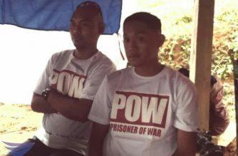 2 pulis na binihag ng mga rebeldeng NPA, pinalaya na