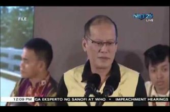 Aquino denies Dengvaxia program was implemented for electioneering purposes