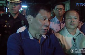 "I told my son Paolo to ""do what he thinks is right"" — President Duterte"