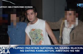 Filipino-Pakistani national na namba-blackmail ng dating karelasyon, arestado ng NBI