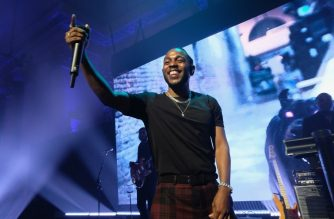 NEW YORK, NY - SEPTEMBER 14: Kendrick Lamar performs onstage at Rihanna's 3rd Annual Diamond Ball Benefitting The Clara Lionel Foundation at Cipriani Wall Street on September 14, 2017 in New York City.   Dimitrios Kambouris/Getty Images for Clara Lionel Foundation/AFP