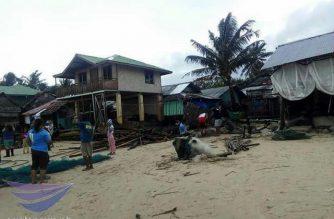 Roxas, Palawan, zero casualty sa pagdaan ng bagyong Agaton