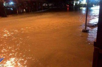 Klase at pasok sa gov't offices sa Tacloban City, suspendido dahil sa matinding pagbaha at pag-ulan