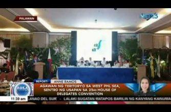 Agawan ng teritoryo sa West PHL Sea, sentro ng usapan sa 23rd House of Delegates Convention