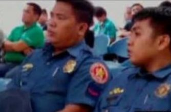 P01 Ricky Arquilita (L) and P01 Jeffrey Perez (R)