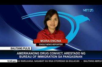 BI: American fugitive arrested in Dagupan