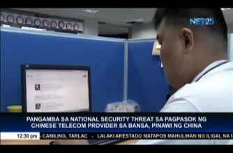 China: Chinese telecom company will not pose a security threat to PHL