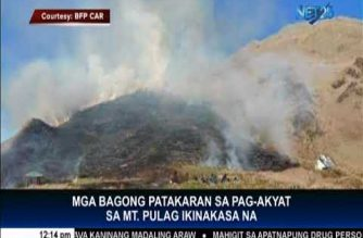 Going to Mt. Pulag? Bring a fire extinguisher — authorities
