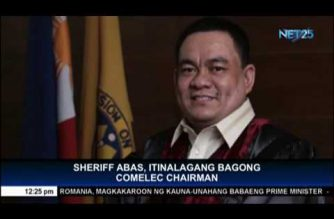 Retired policeman appointed to PCSO; Abas re-appointed as COMELEC chief