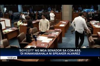 Speaker Alvarez not worried about Senate boycott of constituent assembly