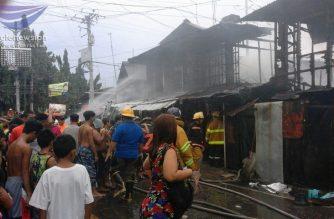 8 bahay natupok sa sunog sa Cebu