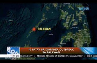 10 die in diarrhea outbreak in Palawan