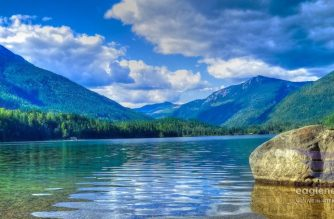 Three Valley Lake in British Columbia Canada #EBCphotography.  Photo by JC Yumul, EBC correspondent in Canada.  (Eagle News Service)
