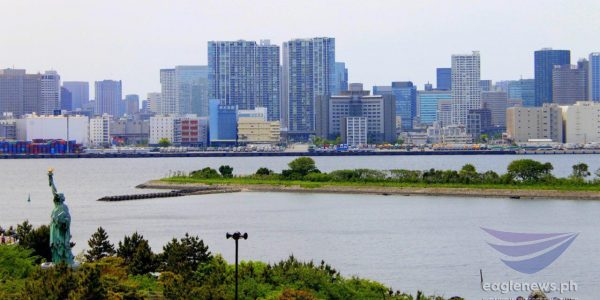 #EBCphotography:  Panoramic view of Odaiba in Japan