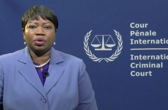 Prosecutor of the International Criminal Court, Mrs Fatou Bensouda, delivers a statement regarding the  opening of Preliminary Examinations into the situations in the Philippines and in Venezuela.  (Photo courtesy ICC website)
