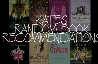 Kate's random book recommendations
