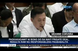 """Bong Go hits """"fake news"""" and """"irresponsible reports"""" linking him to frigate deal"""