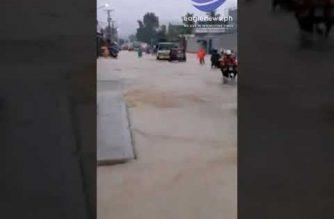 Klase sa lahat ng antas sa Tacloban City at ilang bayan sa Leyte, nananatiling suspendido dahil sa bagyong 'Basyang'
