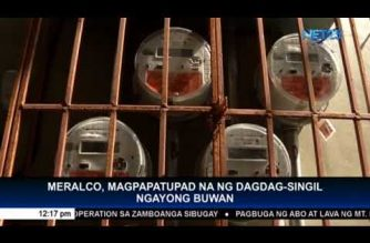 Meralco charges to increase due to TRAIN law