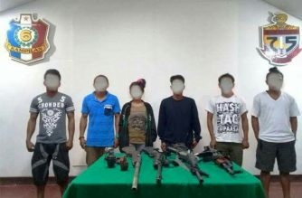 Anim na miyembro ng rebeldeng grupong NPA sumuko sa militar