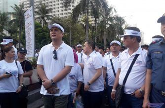 Several gov't officials join INC's Worldwide Walk; laud Church's unity, programs for the poor