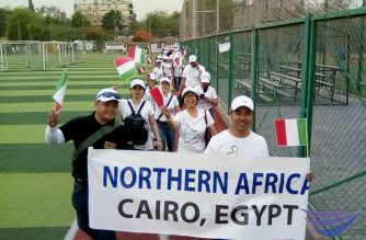 In photos: INC members in Cairo, Egypt take part in Worldwide Walk to Fight Poverty