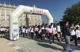 In photos: Iglesia ni Cristo members in Madrid, Spain participate in #INCwalktofightpoverty