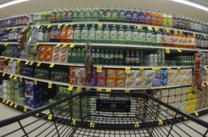 Numerous varieties of soda are shown for sale at a Vons grocery store in Encinitas, California October 10, 2013. Credit: Reuters/Mike Blake