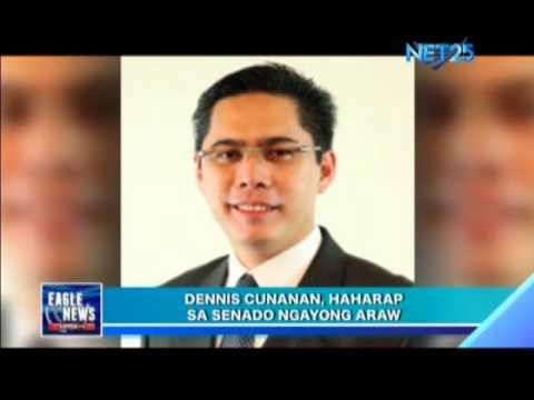 Dennis Cunanan Faces Senate Blue Ribbon Committee