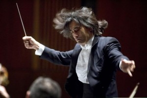 File photograph shows Kent Nagano, the Orchestre symphonique de Montreal 's music director designate, conducting at his debut at his first of four concerts in Montreal