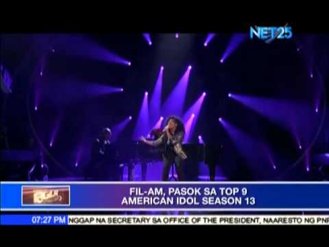 Fil-Am joins American Idol Top 9