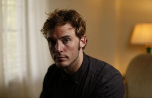 "British actor Sam Claflin poses for a portrait while promoting his upcoming movie ""The Quiet Ones"" at Chateau Marmont in West Hollywood"