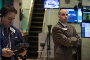 Traders work on the floor of the New York Stock Exchange April 9, 2014. Credit: Reuters/Brendan McDermid