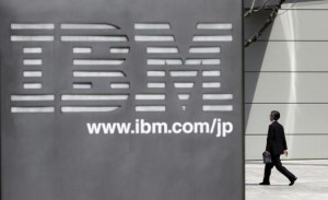A man walks past the headquarters of IBM Japan in Tokyo March 18, 2010. Credit: Reuters/Toru Hanai