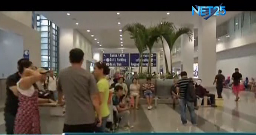 File photo of arriving passengers at the Ninoy Aquino International Airport (NAIA).  (Eagle News Service)