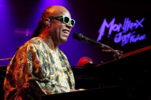 U.S. singer Stevie Wonder performs during the Montreux Jazz Festival in Montreux July 16, 2014. Credit: Reuters/Pierre Albouy